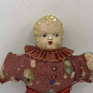 Vintage-Composite-Head-Sewing-Pincushion-Doll
