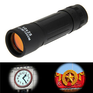 10*25 Zoomable Optical Lens Night Vision Monocular Telescope Scope Binoculars