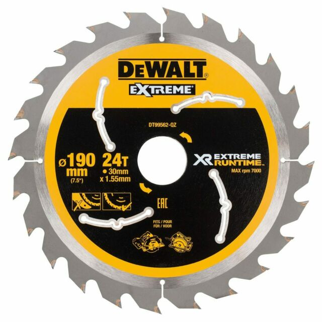 DeWalt Kreissägeblatt Handkreissäge 190/30 mm 24WZ/FZ DT99562-QZ