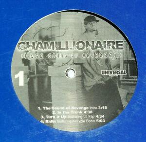 Chamillionaire Sound Of Revenge vinyl 2 lps promo gangsta rap hip hop record