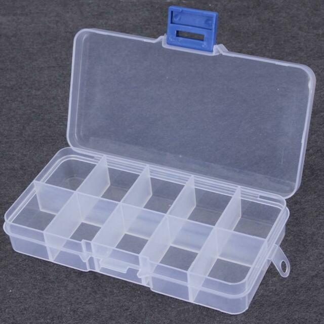 10 Compartment Small Organiser Storage Plastic Box Craft Nail Fuse Beads  for sale onlineeBay