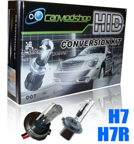 Fits Vauxhall 35W H7 H7R Xenon HID Conversion Kit Slim Balast Headlight Bulbs