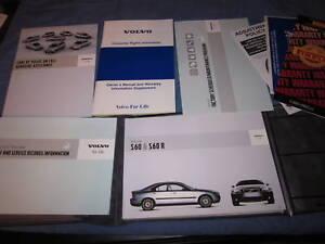 2004 volvo s80 owners manual owner s set w case s 80 ebay rh ebay com 2004 Volvo S80 White 2005 Volvo S80