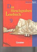 Das Hirschgraben Lesebuch 9 Realschule Bayern NEU NP 21 EUR