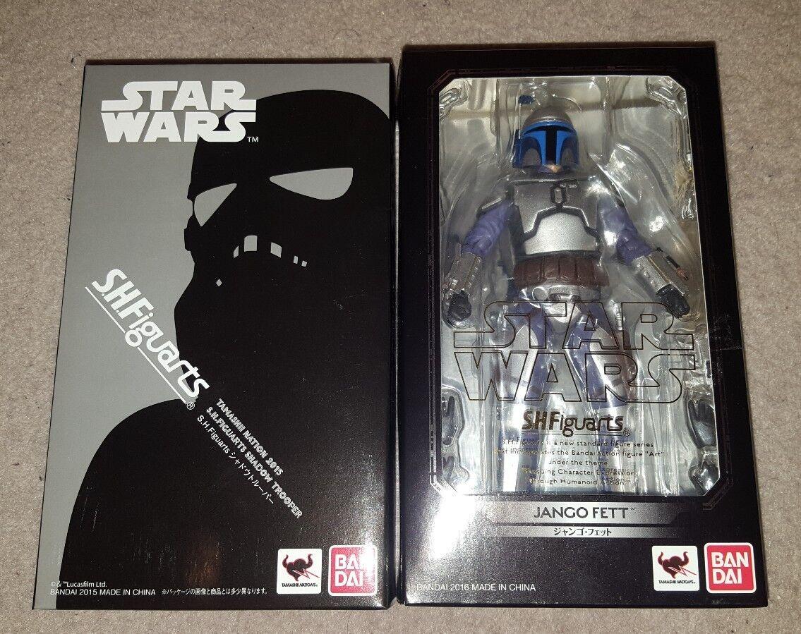 SH Figuarts Jango Fett Shadow Trooper Star Wars