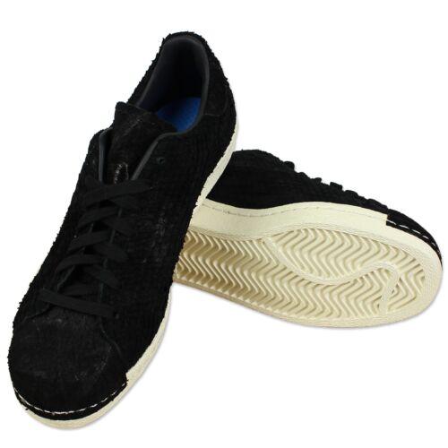 Anni S82508 Pulire Scarpe Originals Superstar Sneaker Black Nero Adidas '80 BWSaxEwnSq