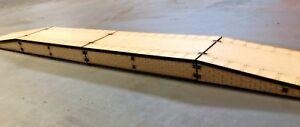 OO-HO-Gauge-Double-Platform-with-On-Off-Ramps-Model-Railway-MDF-Scenery