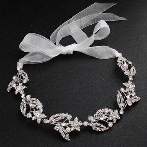 Crystal-Bridal-Wedding-Head-Piece-Bride-Headwear-Headband-Hair-Band-Women-OZ