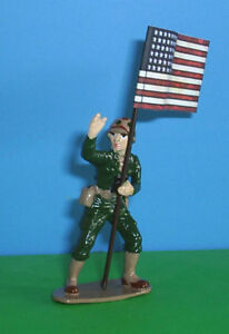 TOY SOLDIERS METAL WORLD WAR 2 AMERICAN US NAVY SCUBA DIVER 54 MM