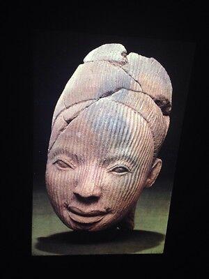 "Owo /""Terracotta Head 15th C/"" Nigeria African Tribal Art 35mm Vintage Slide"