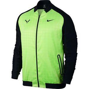 Nike Court Rafael Nadal Jacket Green M Size Ebay