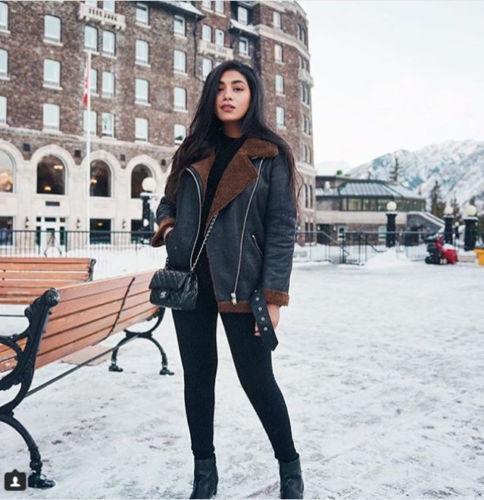 Zara Textured Biker Jacket Size S,M