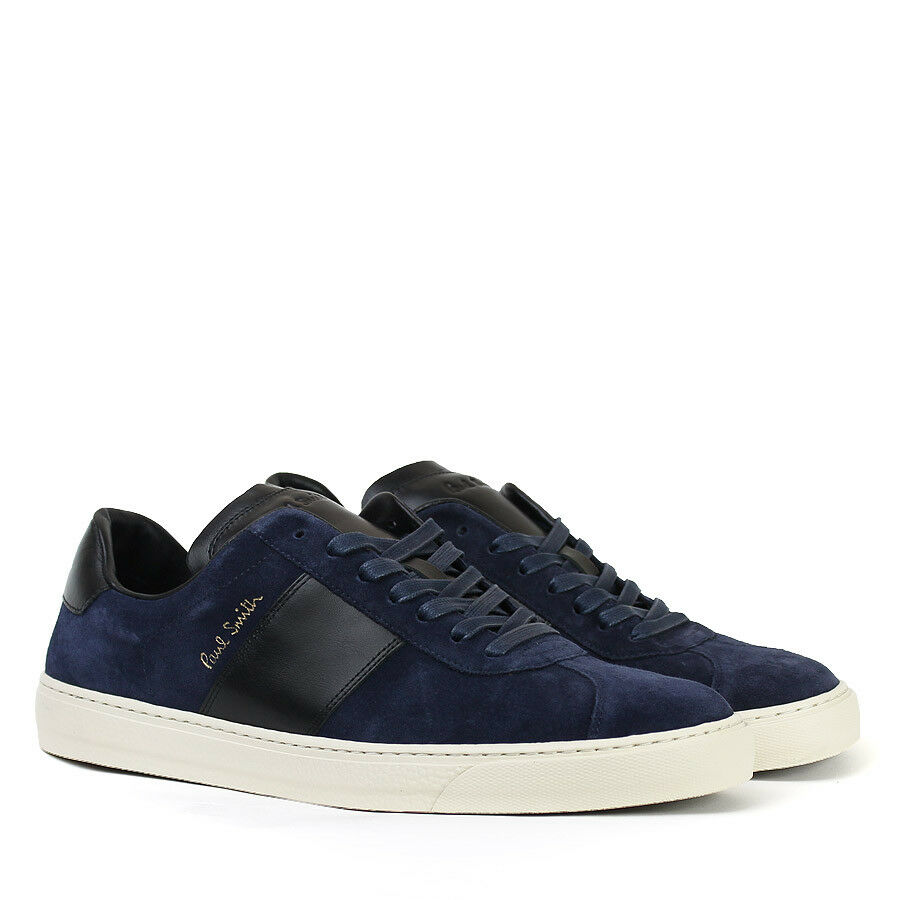 Paul Smith - Dark Navy Suede Levon Trainers - Size Size Size UK 7 - 79a199