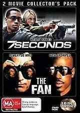 7 SECONDS + THE FAN - BRAND NEW & SEALED 2-DISC DVD (WESLEY SNIPES, DE NIRO)