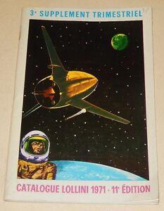 Catalogue-LOLLINI-1971-11eme-Edition-TIMBRES-Conquete-de-l-039-Espace-Meteorologie
