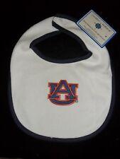 Auburn Tigers AU Logo Infant Baby Bib New with Tags