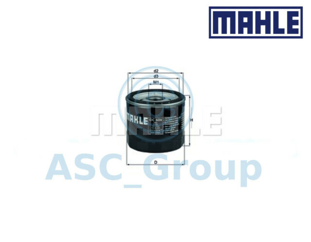 Genuine MAHLE Replacement Screw-on Engine Oil Filter OC 606 OC606