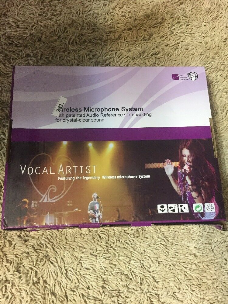 ARCHEER Wireless Microphone System Crystal Clear Sound New In Box