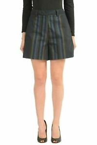 Just-Cavalli-Wool-Multi-Color-Striped-Women-039-s-Casual-Shorts-US-s-IT-40