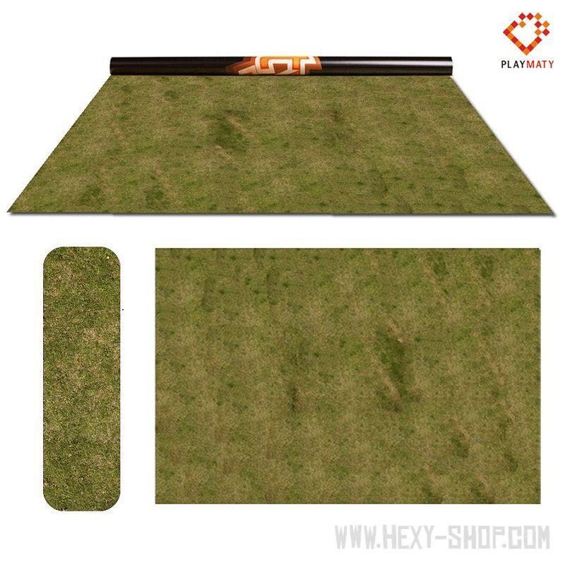 Grass 3   Desert – Double-Sided 72″ x 48″ Mat for Battle Games
