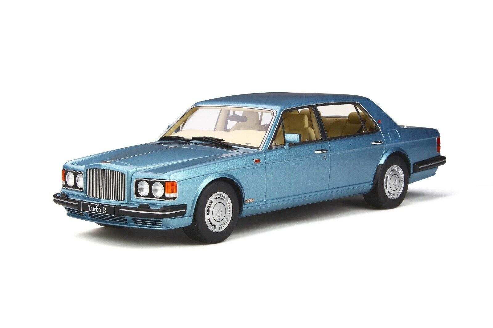 1 18 GT Spirit Bentley Turbo R LWB in Rhapsody Blau  GT782