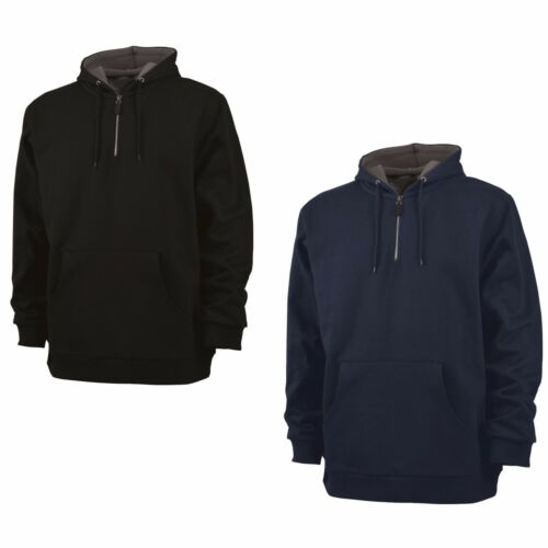 LT XLT thermique doublé Tall pullover sweat à capuche Men/'s Heavyweight 2XLT 1//4 ZIP