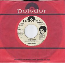 JAMES BROWN  King Heroin  rare promo 45 from 1972