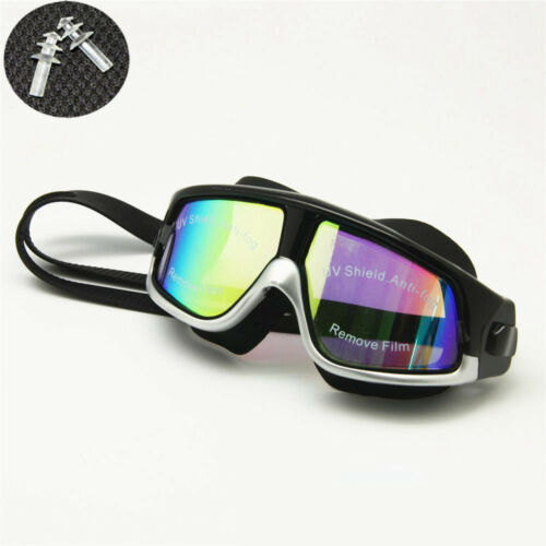 Rx Prescription Swim Goggles Hyperopia Myopia Optical Snorkel Mask Ear Plugs