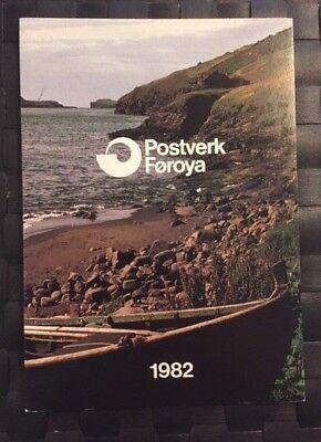 Grönland Besorgt Färöer Jahrbuch 1982 HeißEr Verkauf 50-70% Rabatt