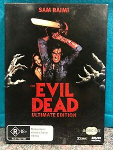 THE-EVIL-DEAD-ULTIMATE-EDITION-2-DISC-DVD-PAL-R4-FREE-POST
