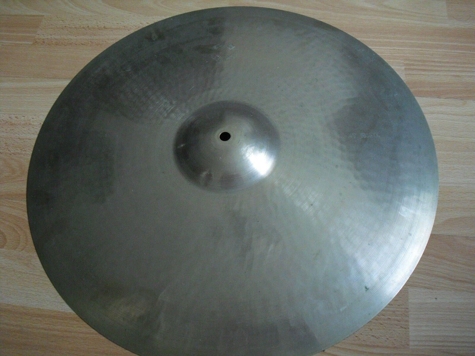 20  Vintage 70s Paiste Sound Creation Bright Ride Cymbal 1978 formula 602 alloy