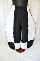 Refined Layering Jersey-balloon Pants°black White° ° Roll Hems48,50,52,54,56