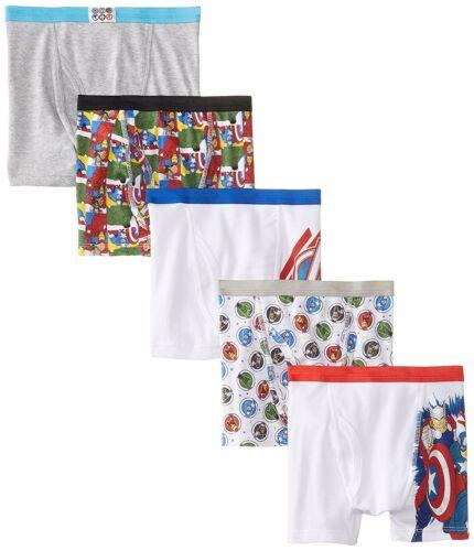 Marvel Little Boys/' Avengers 5-Pack Boxer Briefs