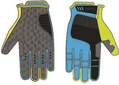 Cyan L Polaris Kids cylcle gloves  TRACKER 2.0
