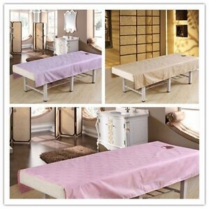 Image Is Loading Thickened Waterproof Oil Beauty Sheet Massage Bed Sheets
