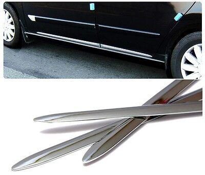 Door Trim Molding Side Garnish Chrome Sill 4p 1Set For HONDA Universal Vehicle