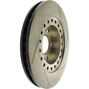 StopTech 126.46052SR Sport Slotted Brake Rotor; Front Right
