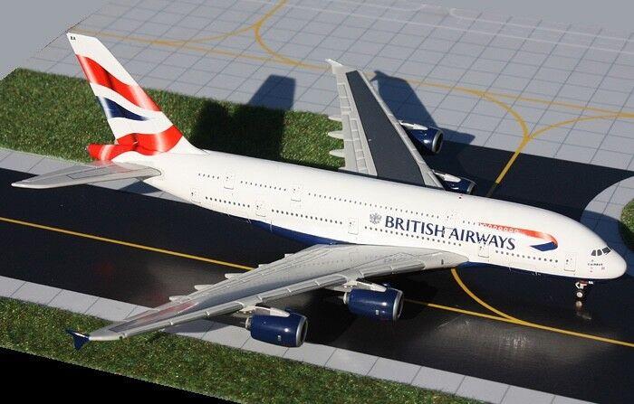 RARE Gemini Gets 1 400 British Airways A380 G -XLEA