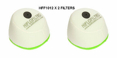 CRE260 HIFLOFILTRO AIR FILTER FITS YEARS 1988 TO 1999 HFF1012  X2 HONDA CR250