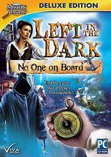 LEFT IN THE DARK: NO ONE ON BOARD Hidden Object Deluxe Ed PC Game Viva Media NEW