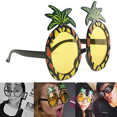New Unisex Fancy Pineapple Dress Sun Glasses Fun Shades Beach Party Gift