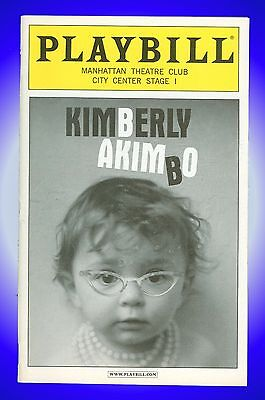 Playbill + Kimberly Akimbo + John Gallagher Jr , Marylouise Burke , Ana Gasteyer