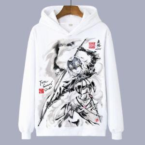Anime-Fate-Grand-Order-Jeanne-d-039-Arc-Hooded-Sweatshirt-Coat-Unisex-Jacket-Y54