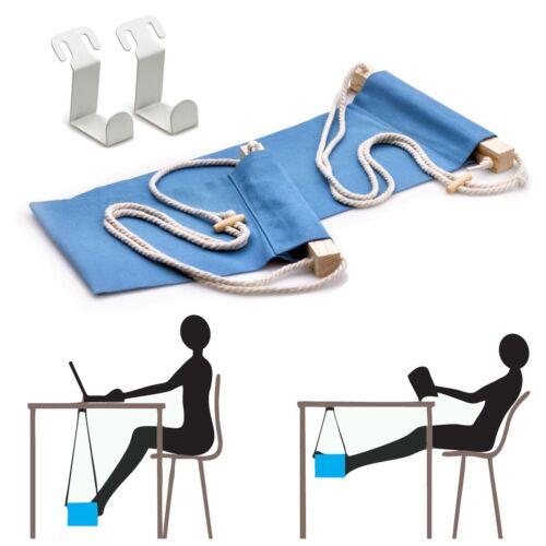 Tragbare Fuß-Hängematte Büro Schreibtisch Fußstütze Tisch Reise Fußhängematte