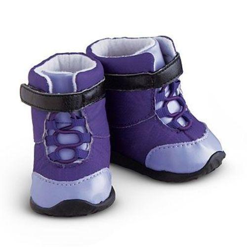 AMERICAN GIRL 2008 PURPLE SNOWBOARD ACCESSORIES~HELMET~GOGGLES~BOOTS~BNIB
