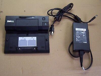 Dell Docking Station PR02X E Port Plus Replicator with PA-4E FAMILY Adapter