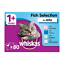 80-x-100g-Whiskas-1-Adult-Wet-Cat-Food-Pouches-Mixed-Fish-In-Jelly thumbnail 11