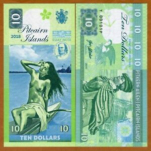 Pitcairn-Islands-10-private-issue-2018-Bounty-Polynesian-Nude