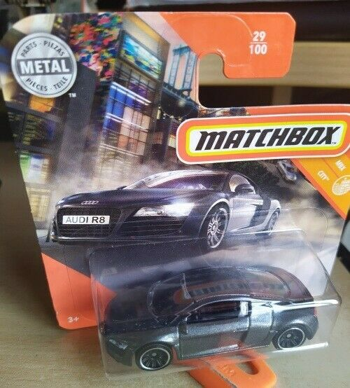 2019 Matchbox ~ 29/100 Audi R8 ~ Mint on Short card