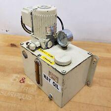 Showa Mla 03w Lubrication Unit 030 Lmin 25w 1550 Rpm 200220v Used